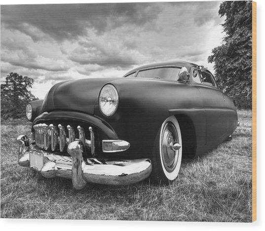 52 Hudson Pacemaker Coupe Wood Print