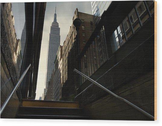 53th Avenue Wood Print