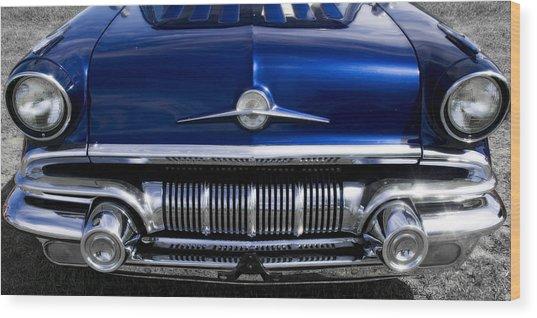 '57 Pontiac Safari Starchief Wood Print