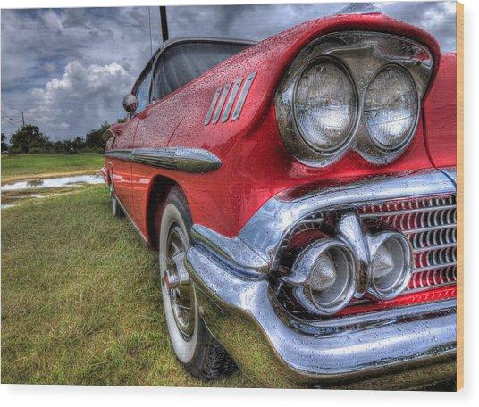 58 Impala Wood Print