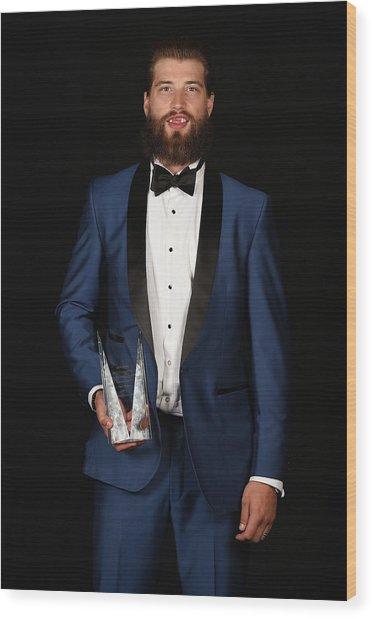 2015 Nhl Awards - Portraits Wood Print