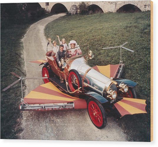 Chitty Chitty Bang Bang  Wood Print