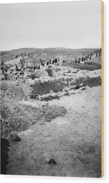 Palestine Beit Shemesh Wood Print by Granger