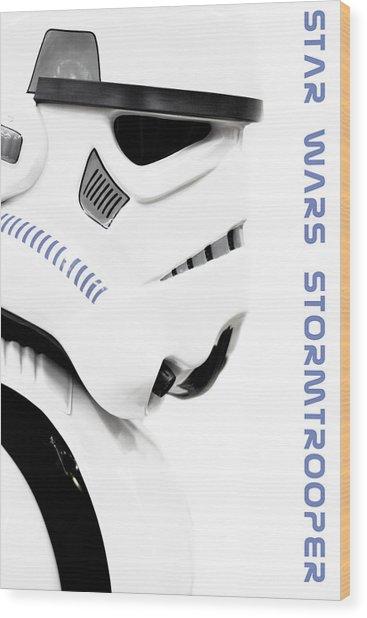 Star Wars Stormtrooper Wood Print