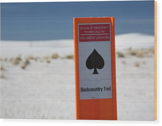 White Sands National Monument Wood Print by Jim West