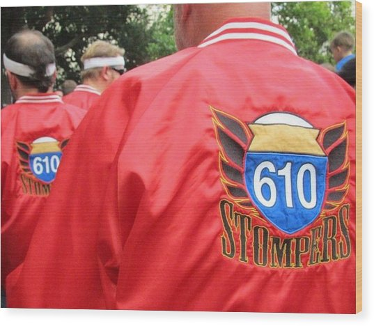 610 Stompers - New Orleans La Wood Print