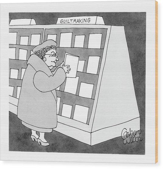 New Yorker November 15th, 2004 Wood Print
