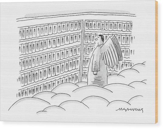 New Yorker June 12th, 2006 Wood Print