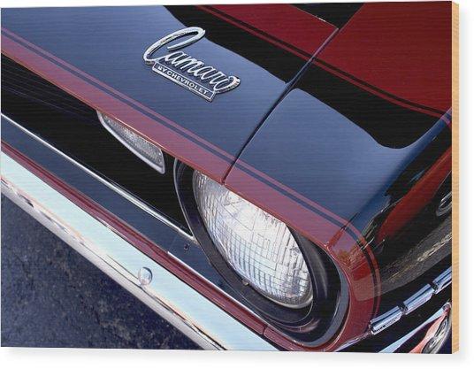 '68 Camaro Wood Print by Mike Maher