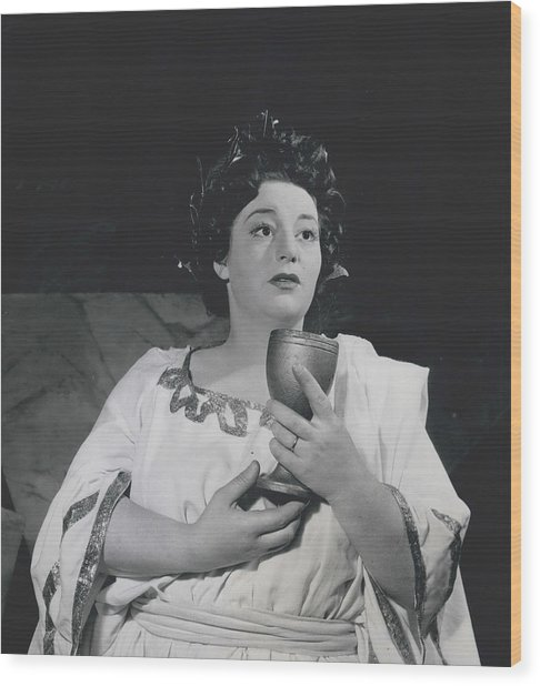 A Roman Scandal In A West End Revue Wood Print by Retro Images Archive