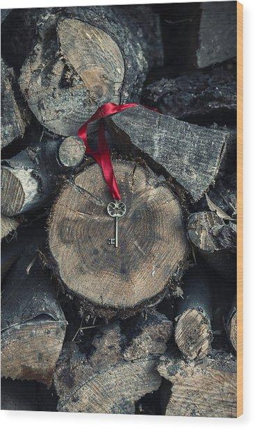 key Wood Print