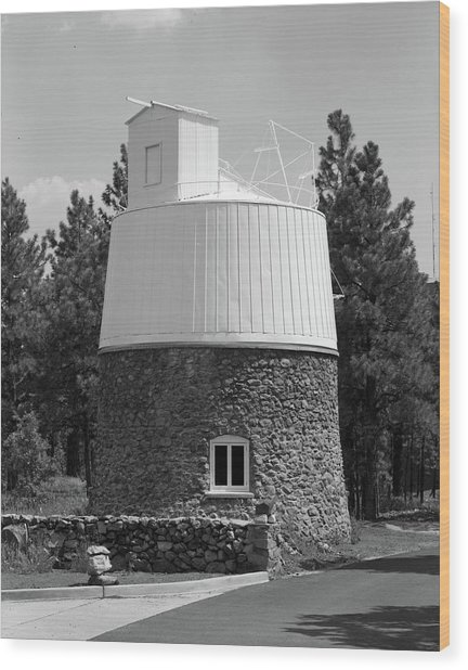 Lowell Observatory Wood Print by Granger