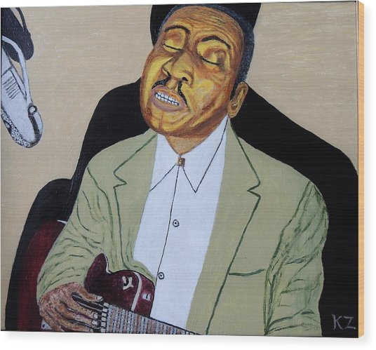 Mannish Boy. Muddy Waters. Wood Print