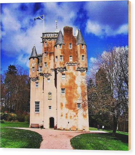 Scottish Castle Wood Print