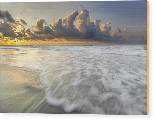 Sunrise On Hilton Head Island Wood Print