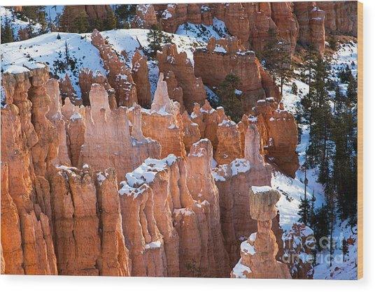 Sunset Point Bryce Canyon National Park Wood Print