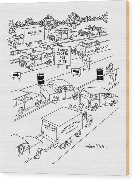 New Yorker September 20th, 2004 Wood Print