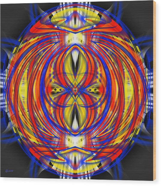 700 36 Wood Print by Brian Johnson