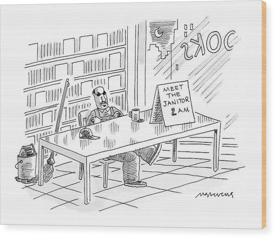New Yorker November 28th, 2005 Wood Print