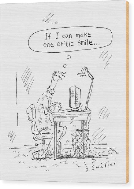New Yorker April 11th, 2005 Wood Print