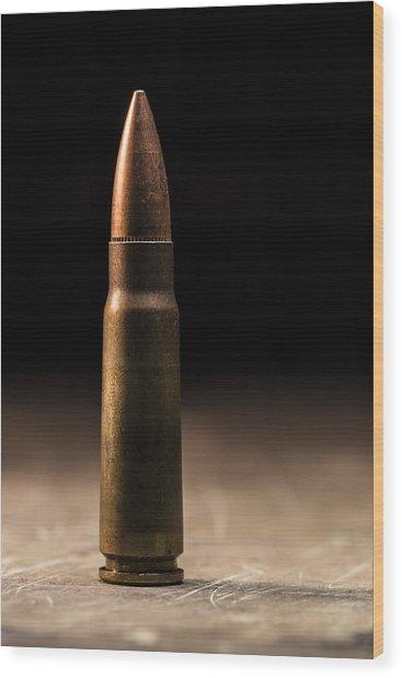 7.62 X 39mm Wood Print