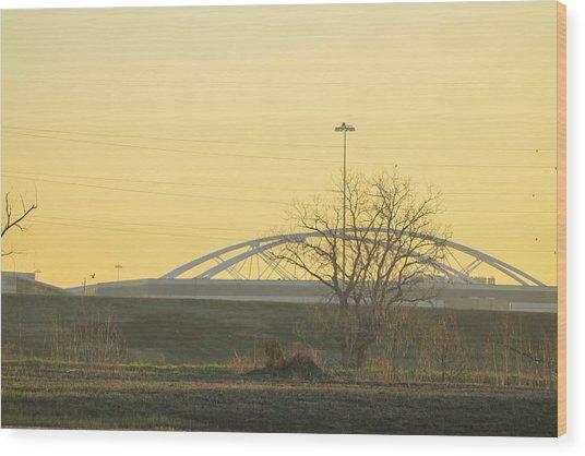 Bridges Wood Print by Tinjoe Mbugus