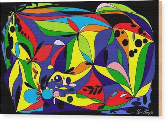 Design By Loxi Sibley Wood Print