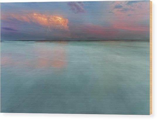 Sunset On Hilton Head Island Wood Print