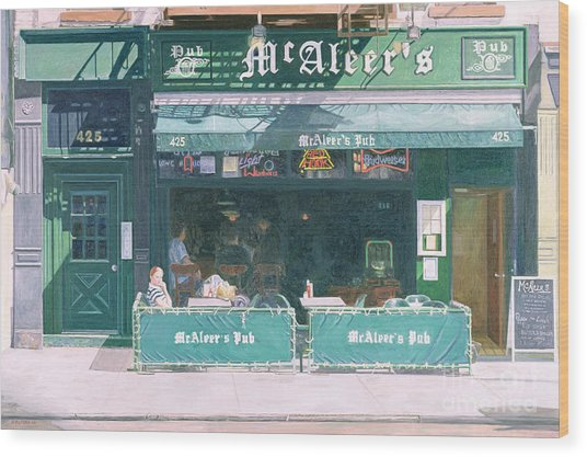 80th And Amsterdam Avenue Wood Print