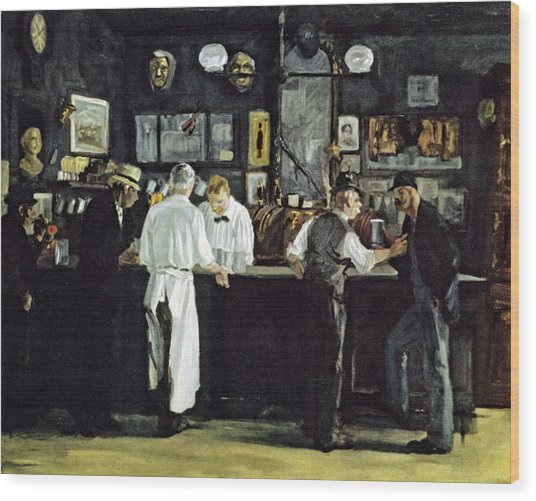 Mcsorleys Bar New York Wood Print