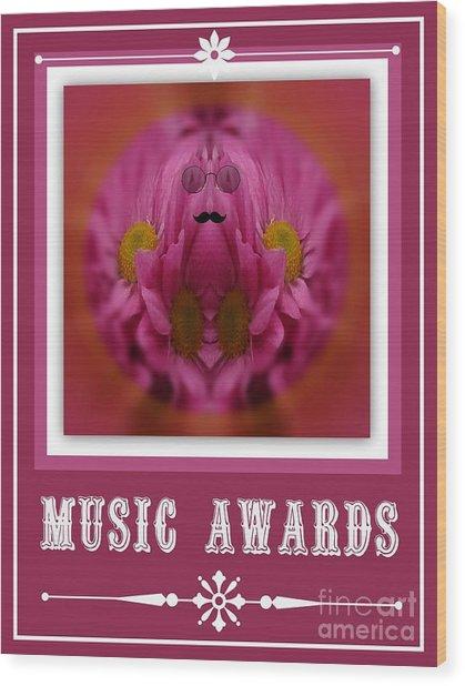 Music Awards Wood Print by Meiers Daniel