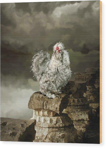 9. Cuckoo Angela Wood Print