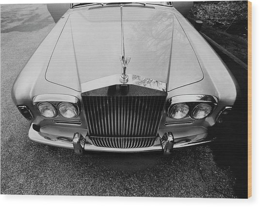 A 1974 Rolls Royce Wood Print