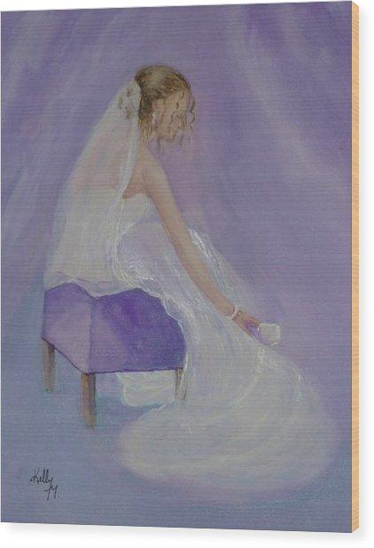 A Brides Soft Touch Wood Print