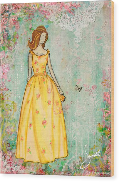 A Charmed Life Wood Print by Janelle Nichol