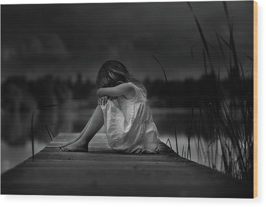 A Childhood Wood Print by Christoph Hessel