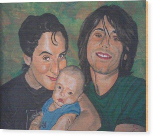 A Family Portrait Wood Print