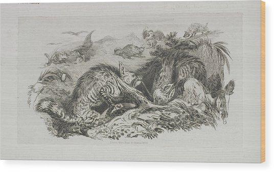 A Fox Wood Print