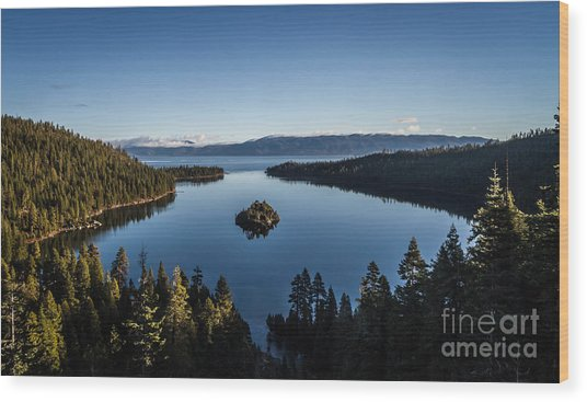 A Generic Photo Of Emerald Bay Wood Print