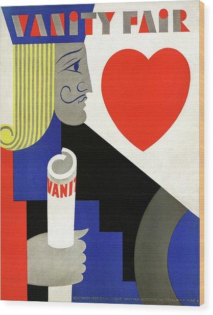 A Jack Of Hearts Wood Print