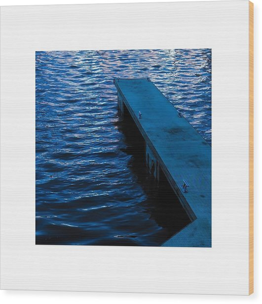 A Jetty's Life Wood Print by Paul Tully