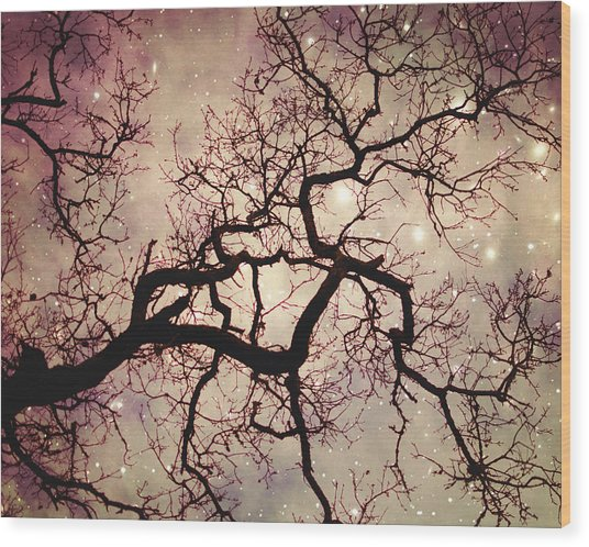 A Kind Of Magic Wood Print by Lupen  Grainne