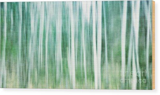 A Matter Of Blues Wood Print