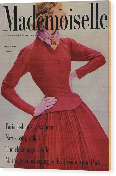 A Model Wearing A Rappi Taffeta Dress Wood Print