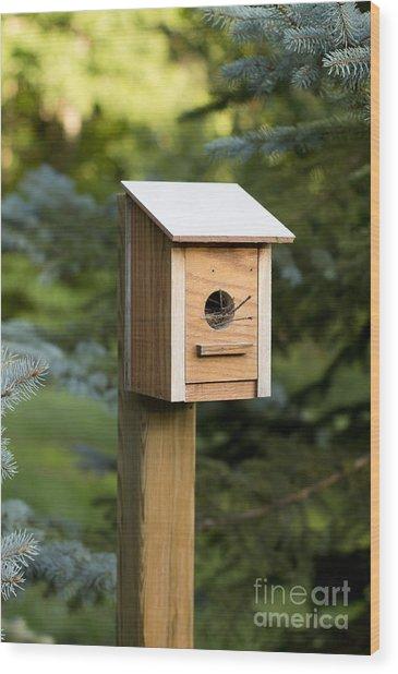 A New Home Wood Print