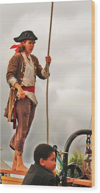 A Pirates Life Wood Print by Al Fritz