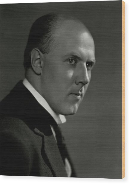 A Portrait Of Walter Gieseking Wood Print