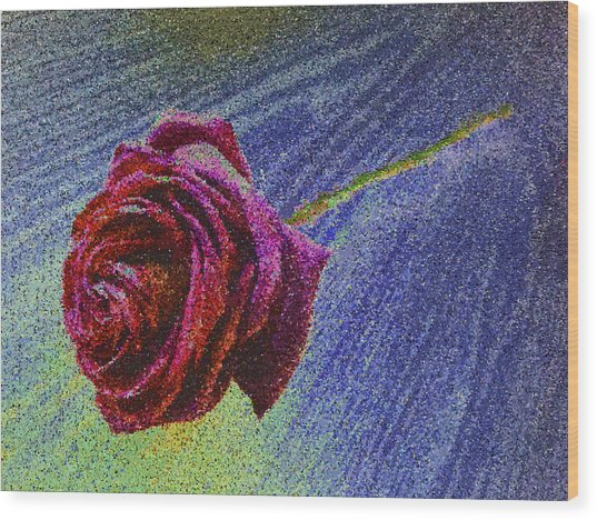 A Rose For You From Kenneth James Wood Print