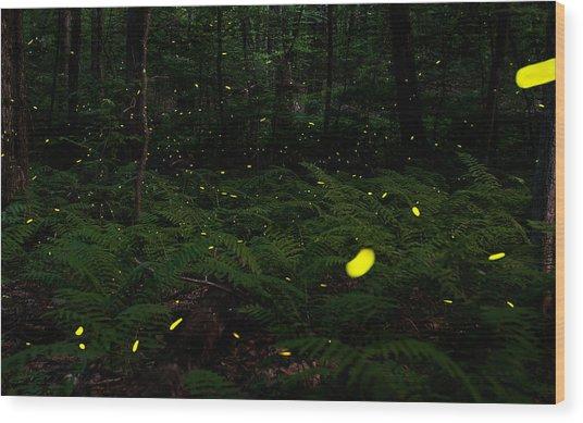 A Silent Symphony Wood Print