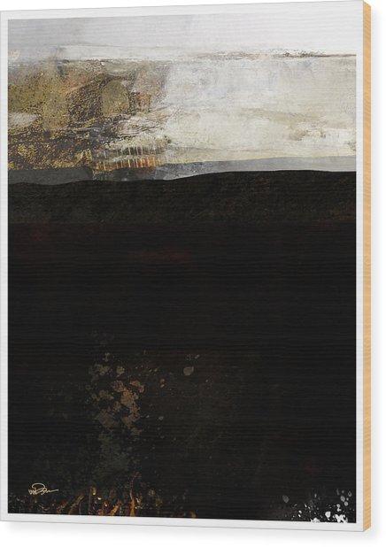 A Simple Landscape Wood Print by James VerDoorn
